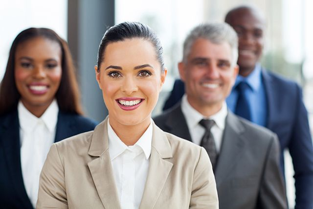 Businesswoman - Executives Page