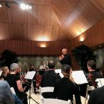 Maestro Gernot Schultz and the Lake Shore Symphony Orchestra